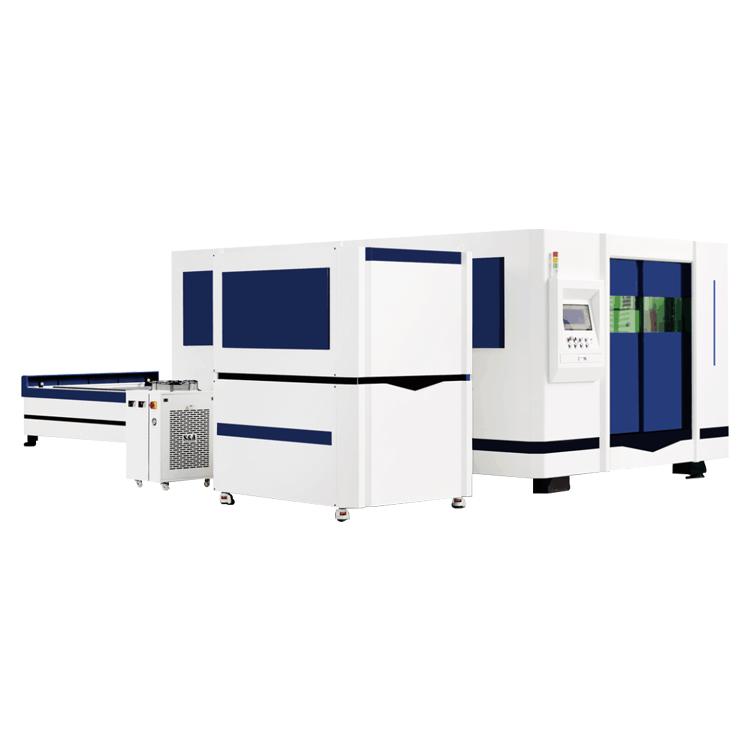 全包围交换台激光切割机HRJG-4015-1500DS