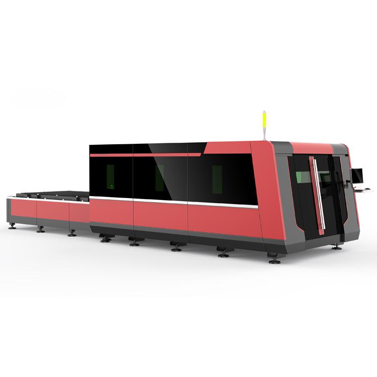 光纤双台面包围式激光切割机HRJG-4020-2000DS
