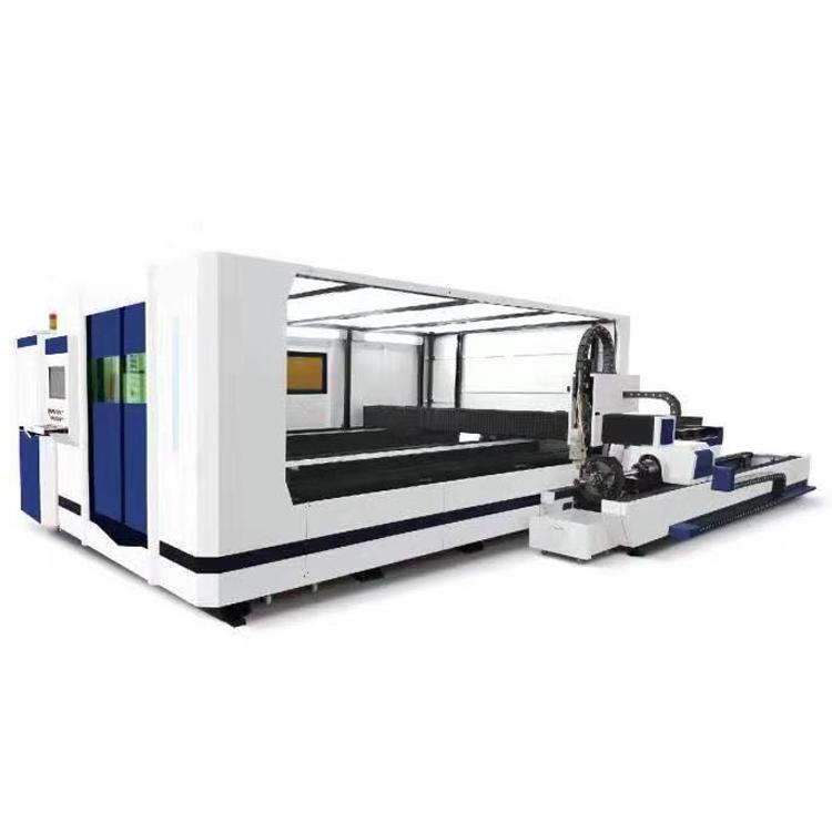 光纤包围式管板一体激光切割机HRJG-4020-2000HT