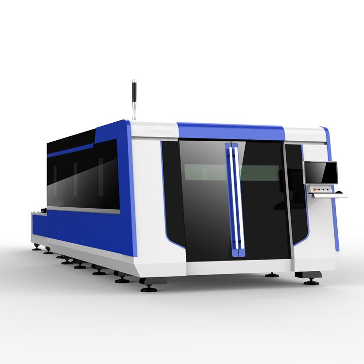 双台面包围式光纤激光切割机HRJG-6025-2000DS