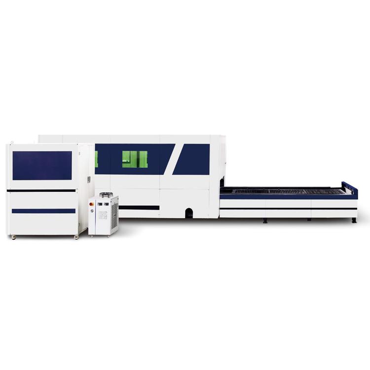 防护罩式光纤激光切割机HRJG-6020-3000DS