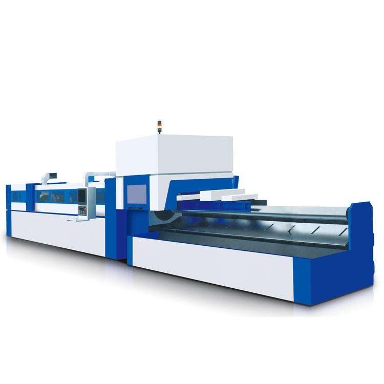 全自动光纤激光切管机HRJG-5000-160-2000