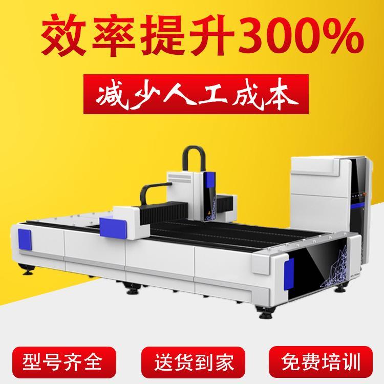 光纤激光切割机可以被用来切割镀锌钢板吗?[华润鲁科]
